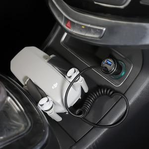 Image 5 - mavic drone car charger Battery & remote control Intelligent safe charging Portable for dji mavic mini drone Accessories