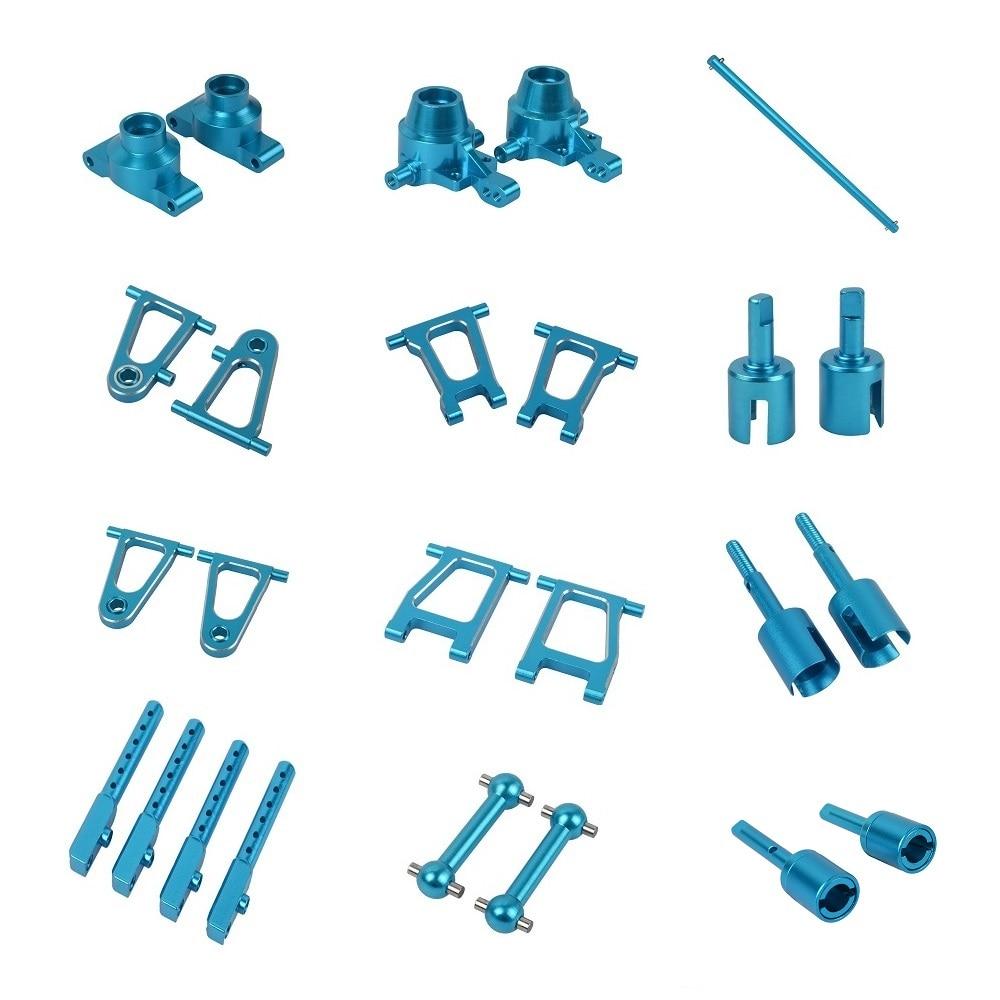 1/10 RC Crawler Aluminum Alloy Upgrade Pats For Tamiya TT-01 TT01E TT01D