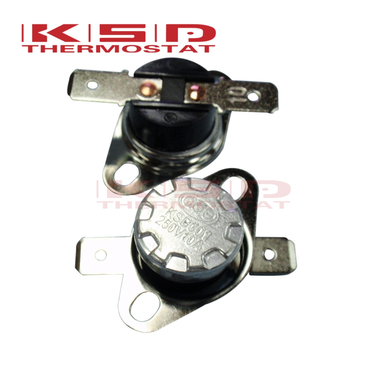 KSD30140-160C 45C50C/55C/60C/65C/70C/75C/80C/95C/150C 10A250V NC Normally Closed NO. Normally Open Temperature Switch Thermostat