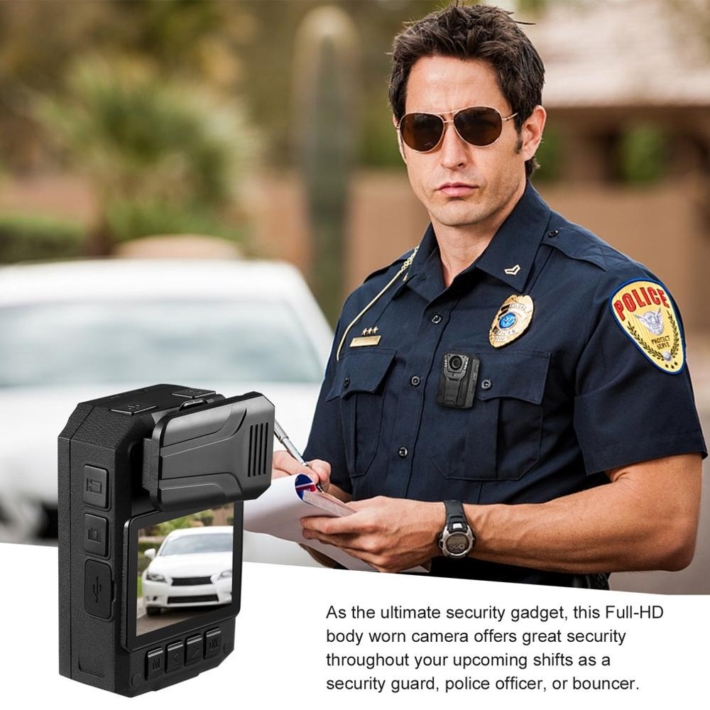 LESHP 1296P Full HD Waterproof Police Body Camera Security Gadget With 2 Inch Display Night Vision GPS Motion detection