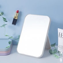 Portable Foldable Makeup Mirror Large Square Single Side Cosmetic Mirror Easy To Use Simple Beauty Makeup Tool