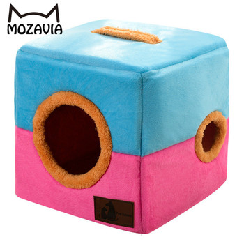 High Quality Cat House Bed Warm Comfortable Cat Home Pets Kattenhuis Cat Cave Cama Gato Gatos Productos Para Mascotas Casa Cama 1