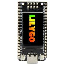 LILYGO®TTGO T Display GD32 GD32VF103CBT6 ana çip ST7789 1.14 inç IPS 240x135 çözünürlük Minimalist geliştirme kurulu