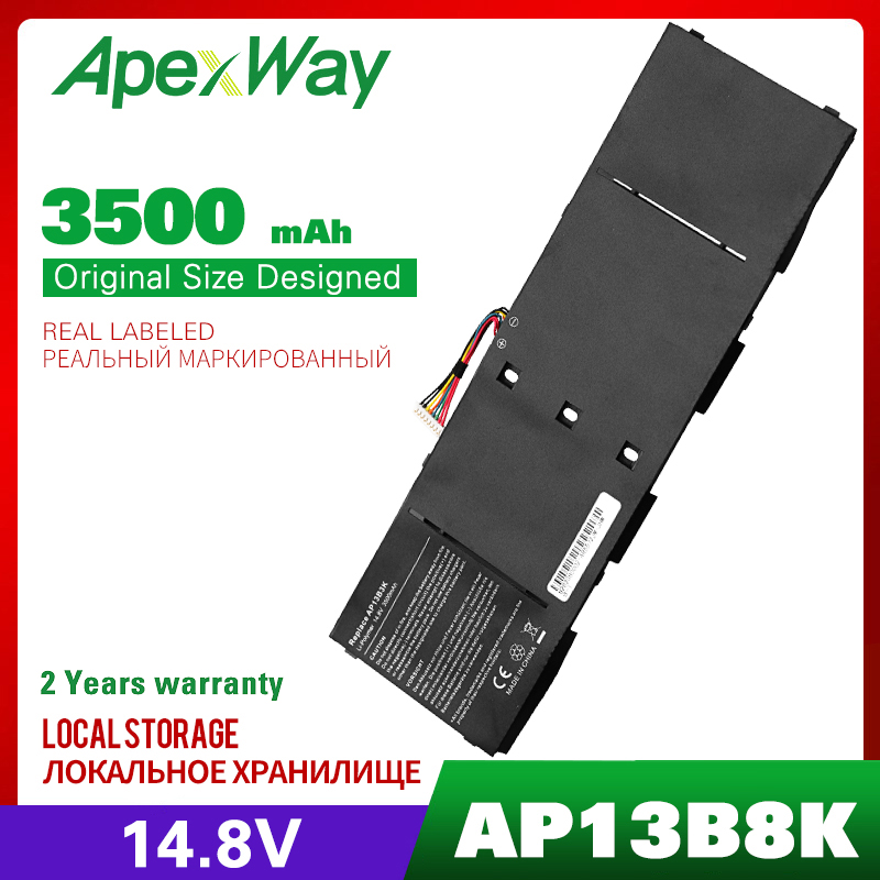 14.8V Laptop Battery For Acer AP13B3K AP13B8K Aspire V5-472 V5-473 V5-552 V5-572 V5-573 V5-473P V7-481 R7-572 ES1-511 ES1-512