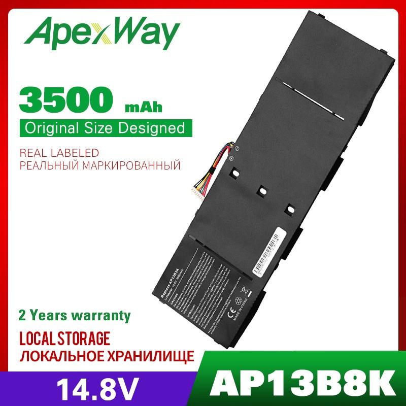 14.8V Laptop Battery For Acer AP13B3K AP13B8K Aspire V5-472 V5-473 V5-552 V5-572 V5-573 V5-473P V7-481 R7-572 ES1-511 ES1-512