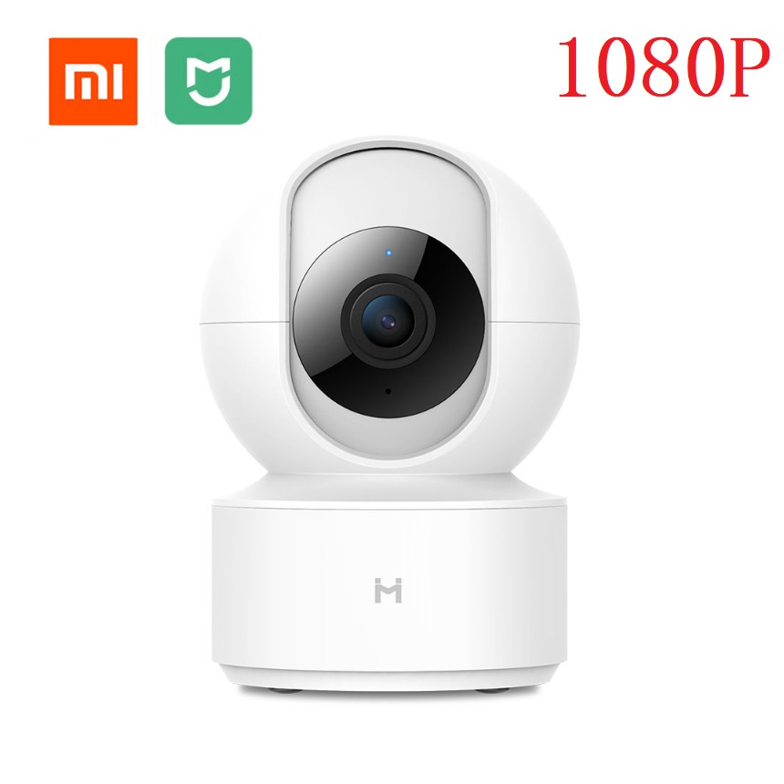 Mijia chuangmi xiaobai Inteligente Câmera Webcam Em 1080P HD Wi-fi Pan-tilt Night Vision 360 Ângulo de Visão Da Câmera de Vídeo monitor do bebê