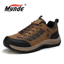Men's Shoes Sneakers Spring Outdoors Waterproof Breathable Casual Fashion Lace-Up Brand