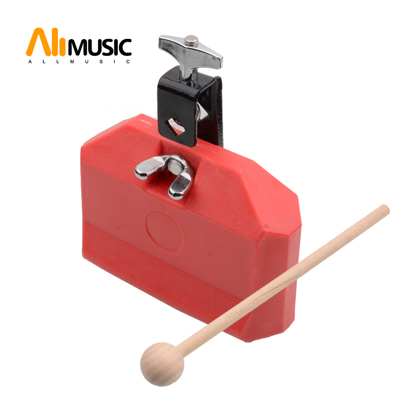 Drum Jam Block Set With Mount Latin Percussion Drum Kit Red Blue