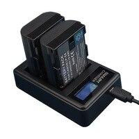 LP E6 LP E6 LPE6 Battery USB LCD Dual Charger For Canon Camera EOS 5D Mark II 2 III 3 6D 7D 60D 60Da 70D 80D DSLR EOS 5DS lp e6