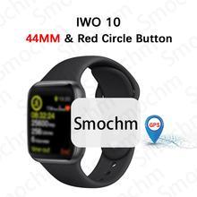 IWO 10 Smochm Bluetooth Relógio Inteligente Série 4 1:1 IWO 8 Além de IWO 9 Atualizado GPS Rastreador Smartwatch Esportes Para apple iPhone Android  11/5000 relógio de maçã