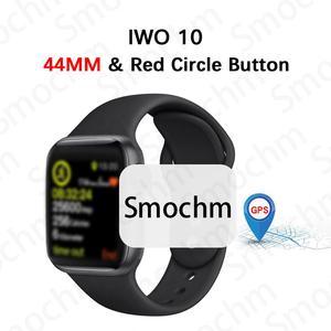 Image 1 - Smochm IWO 10 بلوتوث ساعة ذكية سلسلة 1:1 IWO 8 Plus IWO 9 تحديث لتحديد المواقع المقتفي الرياضة ساعة ذكية لابل آيفون أندرويد