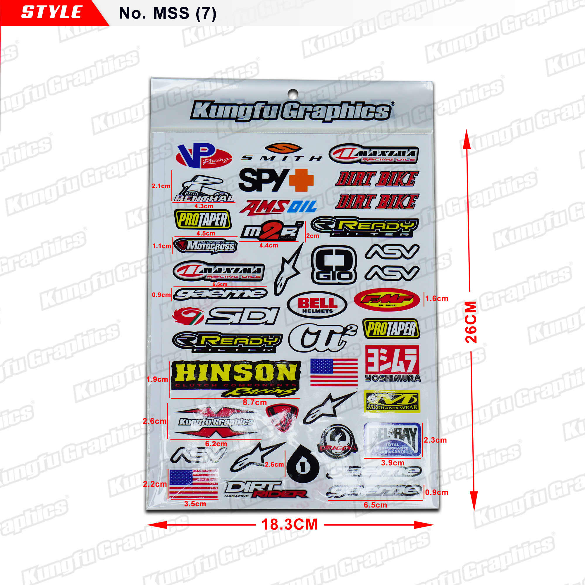 kungfu autocollants graphiques universels pour moto kit d autocollants en vinyle pour motocross course dirt bike atv utv casque skateboard