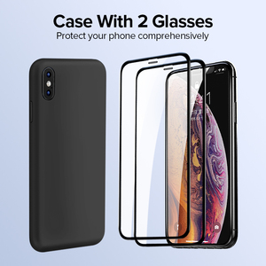 Image 5 - Ugreen, funda para iPhone 7 8 X XS XR, funda de silicona negra, azul y gris para Apple 1:1, funda Original para iPhone 7 8 X XS, funda para iPhone 7
