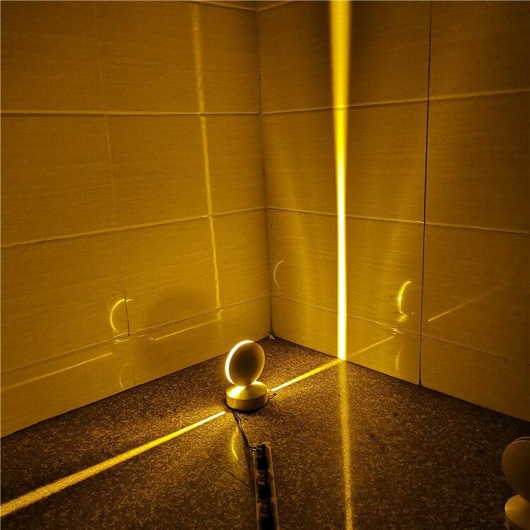 NEWKBO 360 Degree Beam Light Hotel KTV Wall Lamp Led Window Lamp Door Frame Corridor Channel Line Lamp Ray Lamp