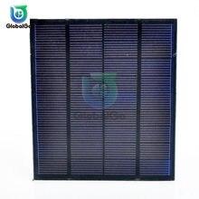 Panel de células solares, cargador artesanal, batería policristalina, carga de 9V, 1,5 W, energía Solar