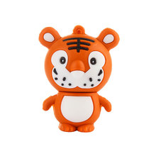 KRY 2017 Lovely mini Tiger USB 2.0 Flash Drive Pen drive Memory stick Animal cartoon 4GB 8GB 16GB 32GB 64GB U disk USB 2.0 16G цена