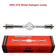 HMI 575/2 сценическая лампа сканера лампа 575 Вт движущаяся голова светильник HMI575W Профессиональный сканер светильник s металлическая галогенная лампа