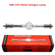 Free shipping HMI 575/2 Stage Scan Lamp Bulb 575W Moving Head Light Lamps HMI575W Professional Scanner Lights Metal Halogen Lamp цена 2017