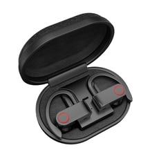 سماعة لاسلكية تعمل بالبلوتوث من هيتون A9 سماعة TWS مع صندوق شحن سماعة رأس مزودة بتقنية البلوتوث V5.0 سماعات ستيريو حقيقية مضادة للعرق مع ميكروفون