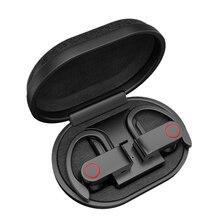 Heaton A9 kablosuz Bluetooth kulaklık TWS şarj kutusu Bluetooth kulaklık ile V5.0 gerçek Stereo Sweatproof mikrofonlu kulaklık