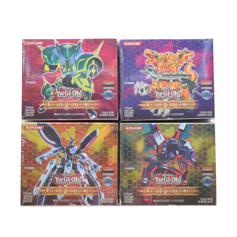 Yugioh Cards 216pcs/set Action Figure Cards Toys English Version Toys for Children Yu Gi Oh Game Collection Cards Brinquedo Gift image