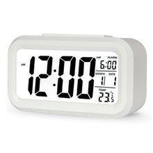 Часы будильник светодиодный цифровые часы с ночной Светильник