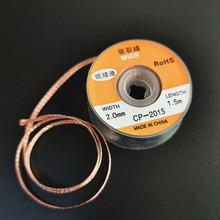 Nowy knot lutowniczy 1pc 3 5mm 2 5mm 2 0mm 1 5M taśma rozlutownicza zmywacz do lutów knot drutu narzędzie do naprawy cheap welding tool other Cyny YZS427