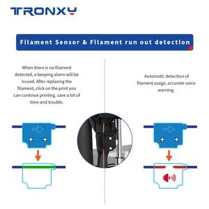 Image 5 - 2020 neueste Schnelle Montage 3D Drucker TRONXY D01 mit Industrie Linear Guide und Titan Extruder Optional Gehäuse acryl bord