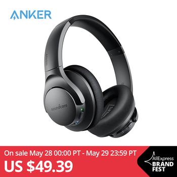 Anker Soundcore Life Q20 bezprzewodowe słuchawki z redukcją szumów nauszne Hybrid Active tanie i dobre opinie Rohs Dynamiczny CN (pochodzenie) Bezprzewodowa+przewodowa 99dBdB bluetooth 1 2mm Zwykłe słuchawki Liniowa 3 5mm A3025