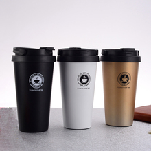 500ML/16.9OZ Premium Travel Stainless Steel Thermos Flask Coffee Mug Tumbler Cups Tea Thermal Bottle For Water Thermocup For Car joudoo 550 750ml stainless steel thermos for water bottle insulated tumbler cups coffee travel vacuum flasks thermal kettle 35
