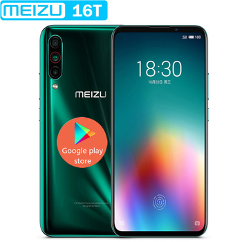 "2019 new Meizu 16T VOLTE 4G LTE 6G/8G RAM 128GB ROM Snapdragon 855 Octa Core 6.5"" Screen 3 Rear Camera Cell Phone GOOGLE PLAY"