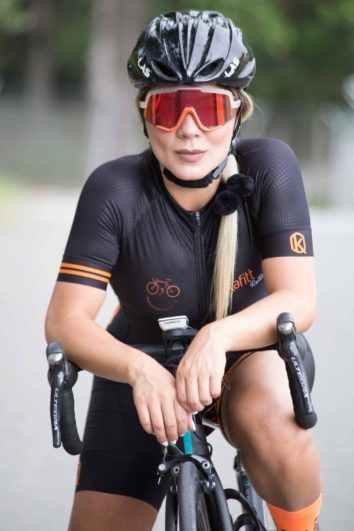 2020 PRO TIM Triathlon Bersepeda Jersey Pendek Lengan Jersey Bodysuit Maillot Bersepeda Jersey Gel Set