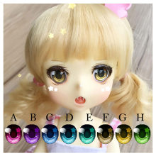 BJD eyes 10-22mm doll eyes star cartoon eyes for 1/8 1/6 1/4 1/3 BJD SD doll accessories eyeballs for dolls