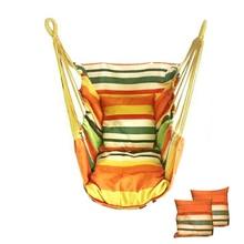 Chair Hammock Bed Swing Ootdoor-Seat Portable Bedroom Leisure-Rope Canvas Camping