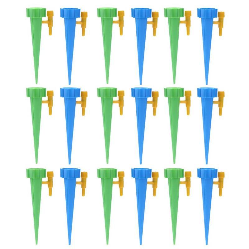 18 шт. автоматический полив для полива, заводы для помещений, бытовой автоматический капельный полив, система полива, автоматический полив, Спайк - Цвет: 18PCS Mix