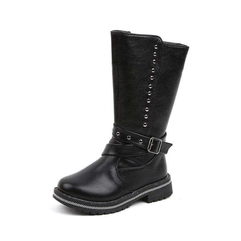 Botas Crianças Menina Sapatos de Inverno 2019