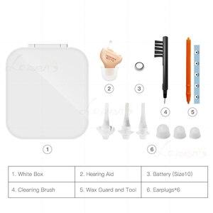 Image 4 - LAIWEN T أفضل مساعدات للسمع قنوات رقمية 4/6/8 غير مرئية مساعدات للسمع CIC أجهزة الاستماع السمع مساعدة دروبشيبينغ
