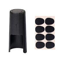 цены на Saxophone Mouthpiece with Cap Alto Saxophone Mouthpiece Plastic with Cap Pads  в интернет-магазинах