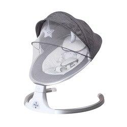 Baby Schaukel Stuhl Neue Stil Smart Bluetooth Elektrische Wiege Bett mit musik Elektrische schaukel neugeborenen Shaker