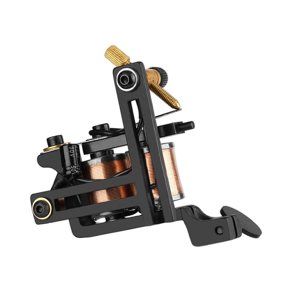 12 Wrap bobine Machine à tatouer shader pistolet maquillage Permanent fer bobine pistolet à tatouer Shader Machine à tatouer