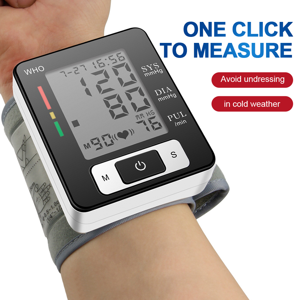 Wrist Tonometer Apparatus For Measuring Pressure Medical Equipment Blood Pressure Monitor Home Digital Blood Pressure Monitor