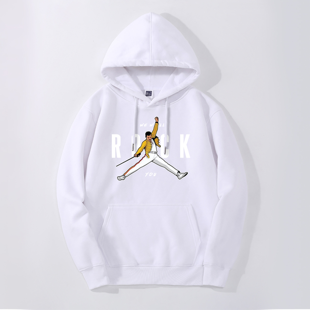 ROCK YOU FREDDIE MERCURY HOODIE (7 VARIAN)