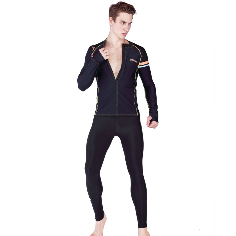 Sabolay AliExpress Swimwear Diving Suit New Style Beach Long Swimming Trunks Sub-Sports Sun-resistant Men's Nk623