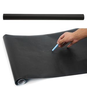 45*200cm Large Blackboard Wall Sticker Chalkboard Stickers Removable Black Board Krijtbord Pizarra Kids Office School Supplies