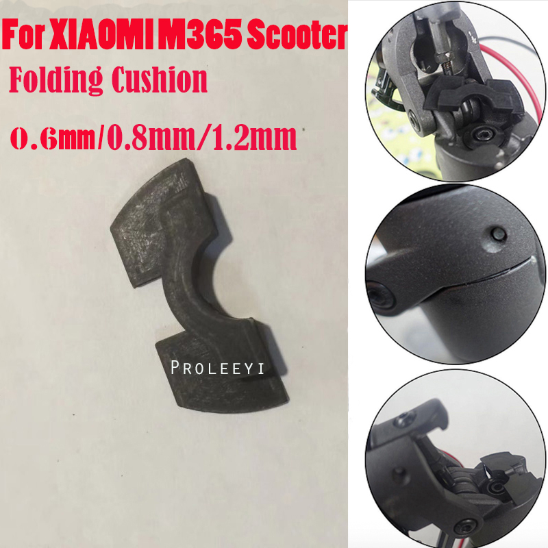 3 PCS Shake Reducers For XIAOMI M365 Electric Scooter Front Fork Avoid Damping Rubber Pad Folding Cushion For m36 and M365 Pro
