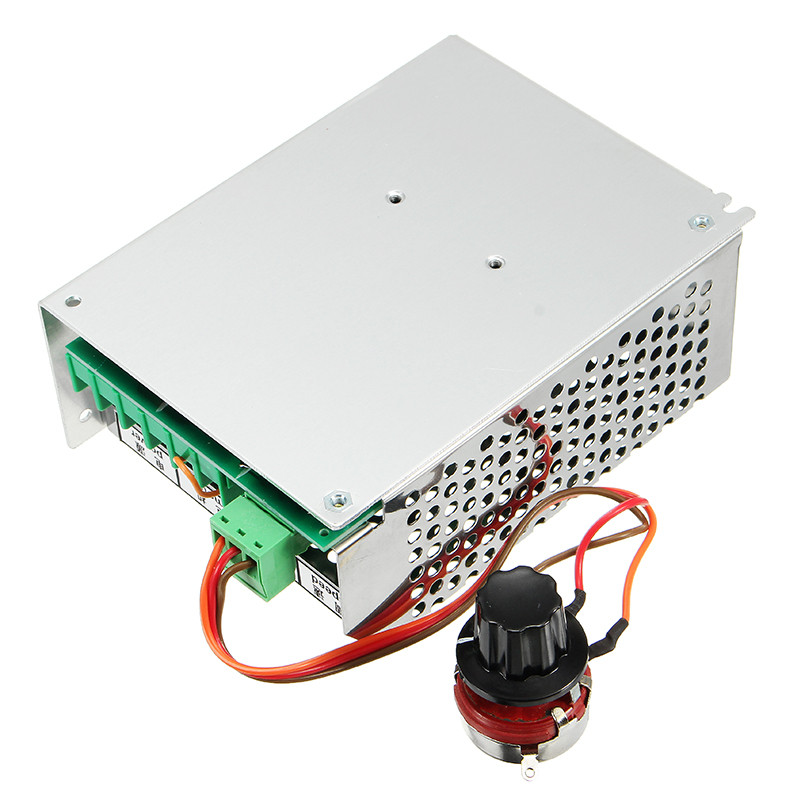 AC 110-220V Power Supply Speed Universal Governor DC Motor Speed Controller For ER11 Chuck CNC 500W Spindle Motor