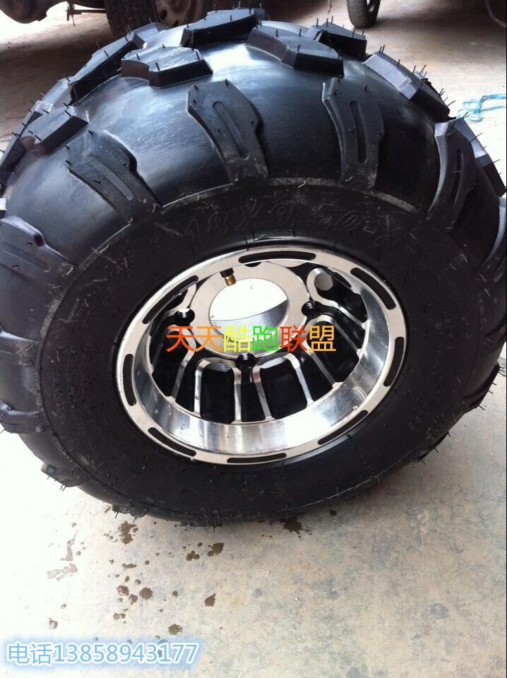 18X9.5X8 ATV Tires 4 PLY for 110cc 125cc UTV Gokart Quad Buggy 4Wheels 1PCS
