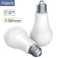 AQara Smart LED Bulb E27 LED Light Timing Remote Control Voice Control Work With Mijia