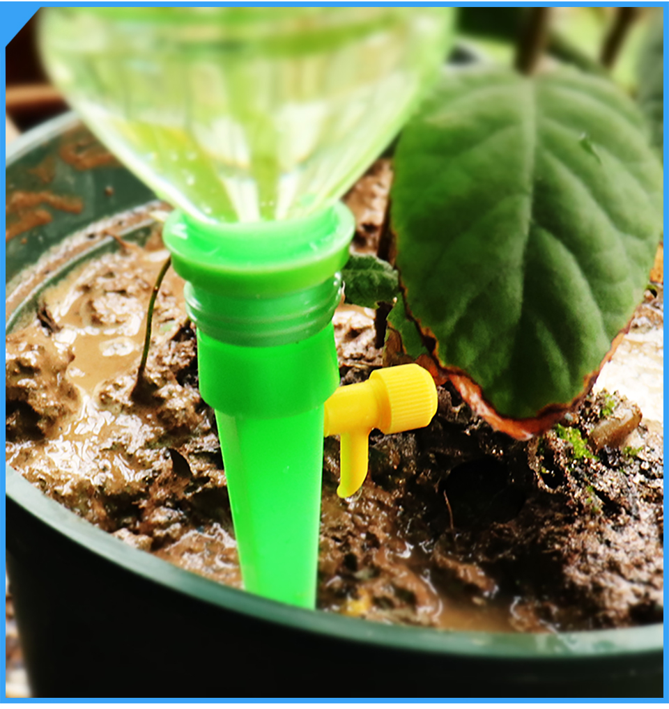 Ha45acbf7b5a040b08419040f32e481a73 Drip irrigation garden watering system automatic Dripper water Artifact Travel essentials plant flower Potted plant Waterer