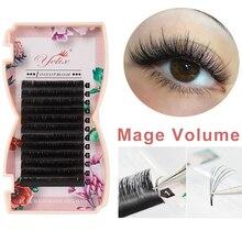 Yelix Mega volume lashes auto Fan individual eyelash extensions Easy fan eyelash Natural Professional eyelashes for building